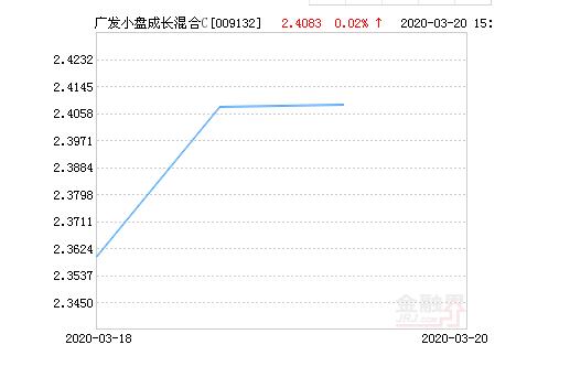 广发小盘成长混合C基金03月23日上涨